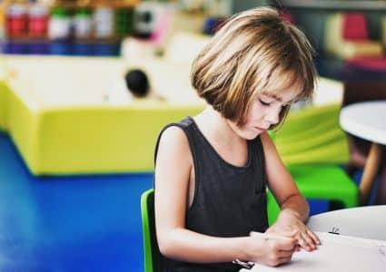 Create a Kids Writing Station