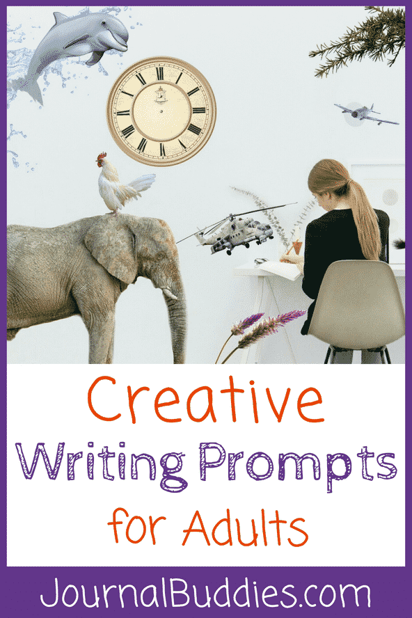 Use this list of creative writing prompts for adults to help you brainstorm an innovative idea for your next short story, blog post, personal essay, or journal entry!