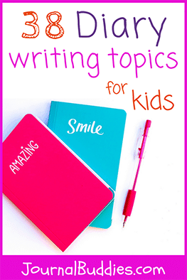 Check out these diary writing topics for kids ranging from elementary to high school age. These diary writing prompts stimulate creative expression and help children think outside the box.
