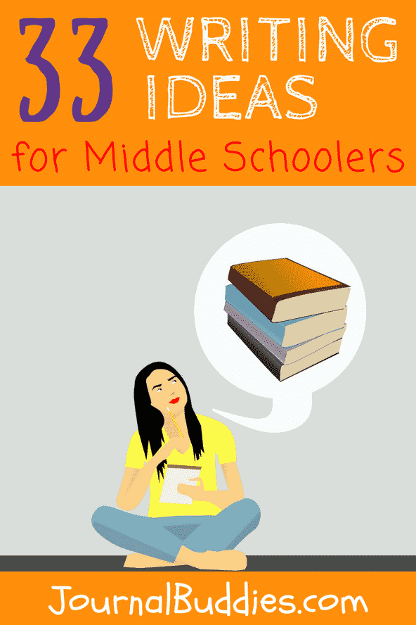 These new writing ideas can be used to help middle school students improve their skills and better express their own ideas and feelings!