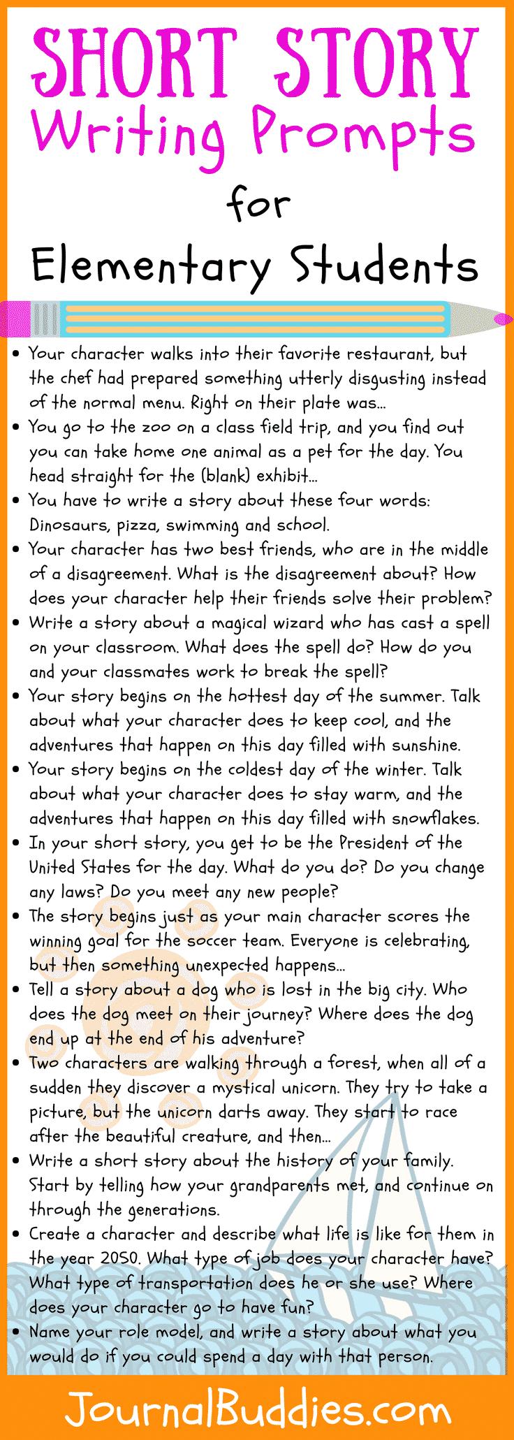 Elementary Short Story Ideas for Kids