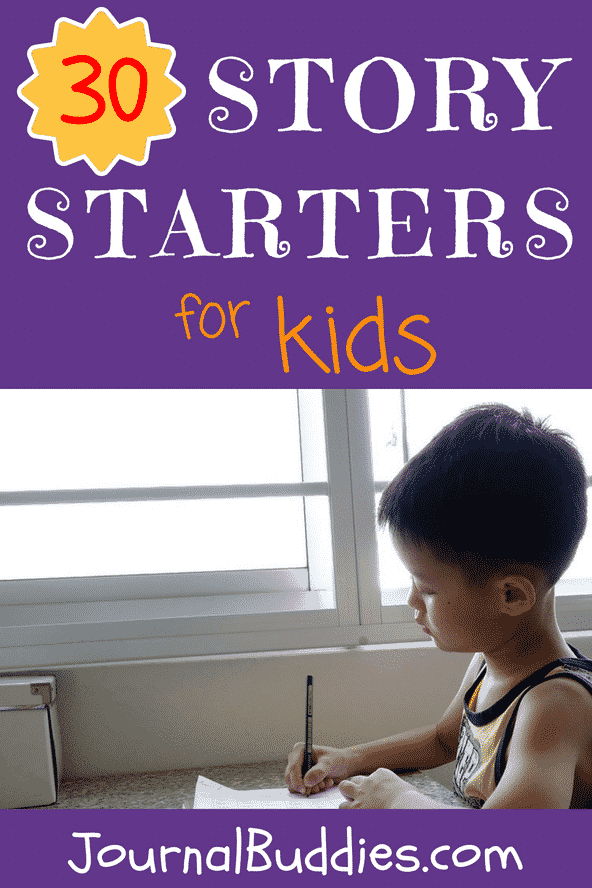 Relax and enjoy this fun listing of imaginative story starter ideas for kids!