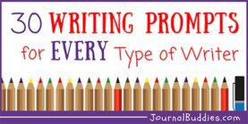 Writing Prompt Ideas for Every Type of Writer