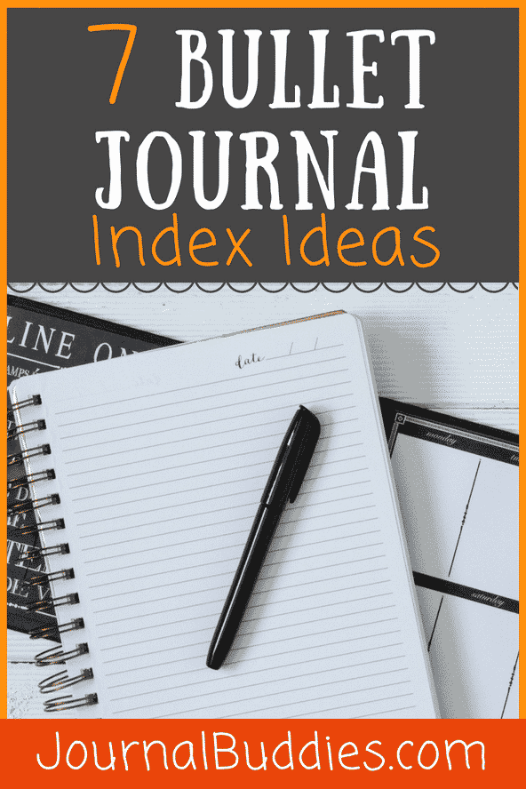 It's imperative that you select an index design and system that works best for your lifestyle, your goals, and your bullet journal. Try these ideas today to see if they work for you!