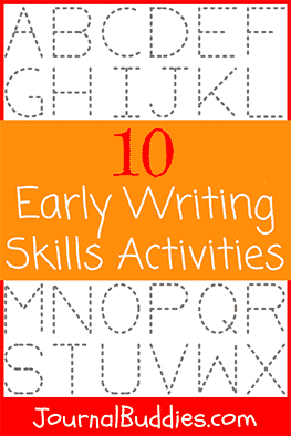Children can begin developing their early writing skills as early as 2 or 3 years old. These activities can help parents, educators, and caretakers get started.