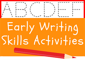 Early Writing Skills Activities