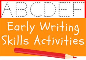 Early Writing Skills Activities