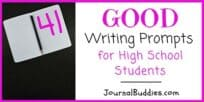 41 Good Writing Prompts