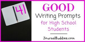 Essay Writing Prompts for High School