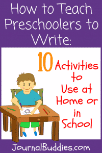These fun activities will show you how to teach preschoolers to write, so that they are ready, prepared, and excited for kindergarten.