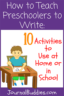 These fun activities will show you how to teach preschoolers to write so that they are ready, prepared, and excited for kindergarten.