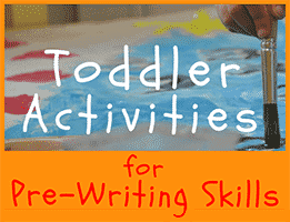 Toddler Activities for Pre-Writing Skills