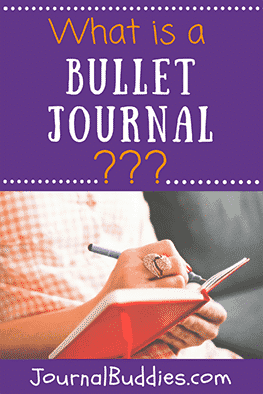 A bullet journal is a customized organization system that uses bullet points and symbols to organize life and thoughts.
