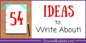 Ideas to Write About