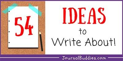 Kids Writing Ideas