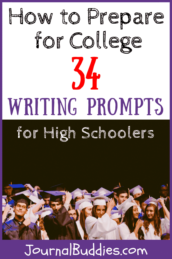 Writing Ideas for High School Students to Prepare for College