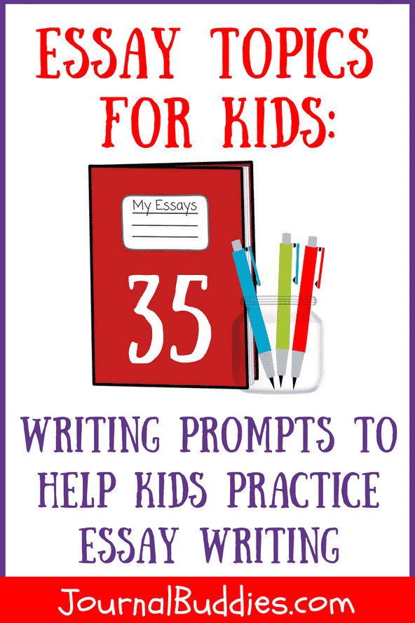 Essay writing samples for kids