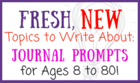 Fresh, New Topics to Write About