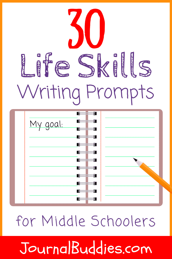 Help your students learn the valuable life skills they need before entering into adulthood with these all-new life skills for kids writing prompts.