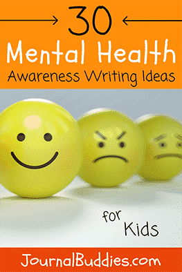 Mental Health Awareness Journal Prompts for Students