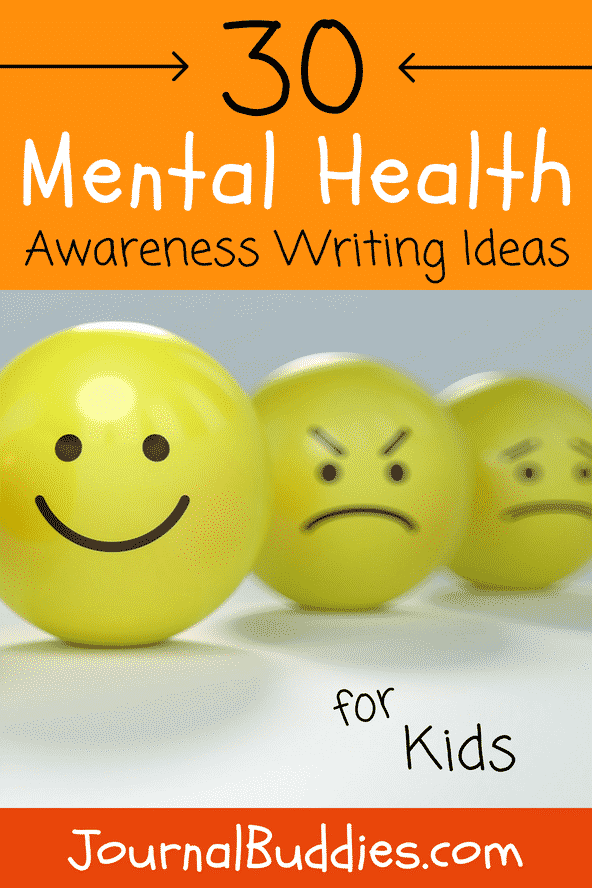Use these Mental Health Awareness writing prompts with your students this October to educate and empower them to handle mental health issues!