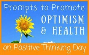 Positive Thinking Day Journal Prompts