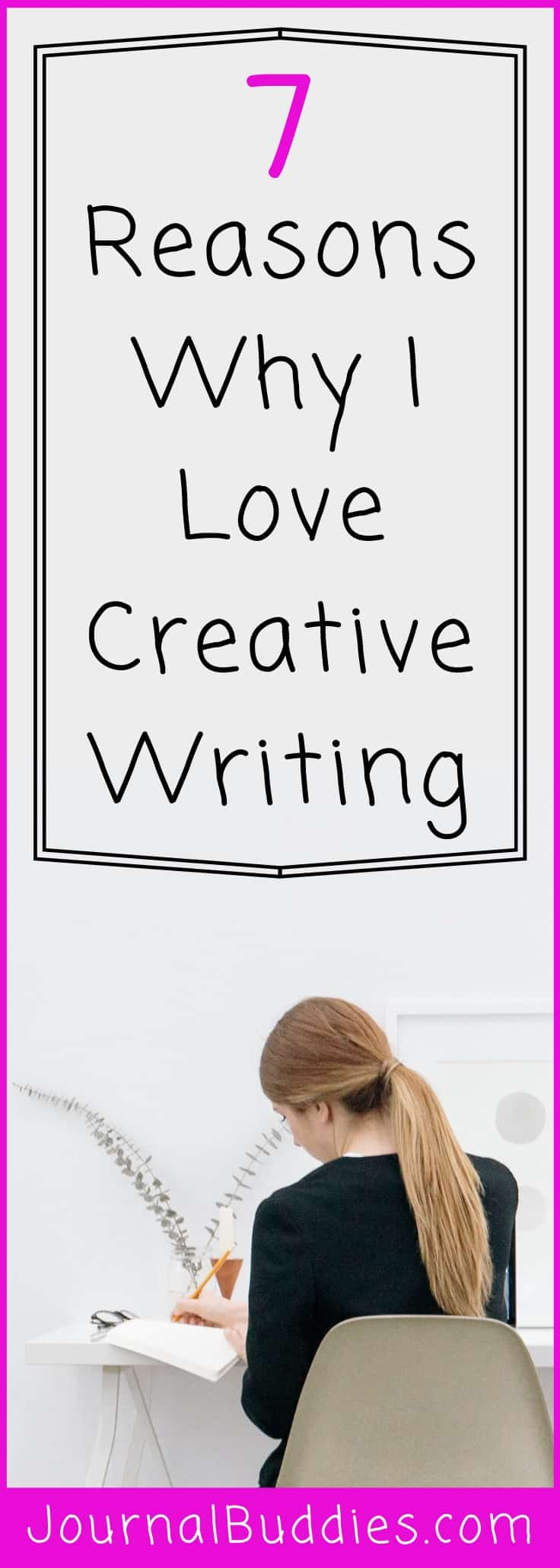 If you're interested in creative writing, just do it! Get a pad and pen and begin to write down your thoughts, your aspirations, and your dreams.