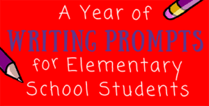 Year of Writing Prompts for Elementary Students