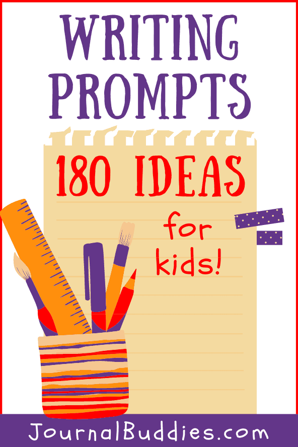 Journal Ideas and Writing Prompts for Kids
