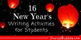 16 New Year's Writing Activities