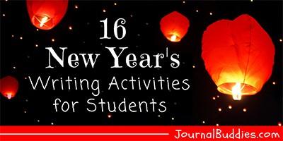 Kids New Year's Writing Activities