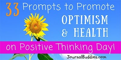 Prompts to Promote Optimism on Positive Thinking Day