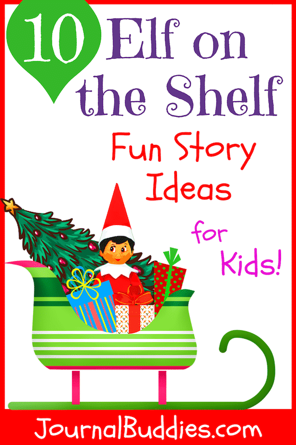 Use these Elf on the Shelf fun story ideas to allow kids to put their imaginations to work and create stories that are as magical and inventive as the mischievous elf himself.