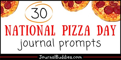 National Pizza Day Writing Topics for Kids