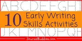 Early Writing Skills (10 Activities!)