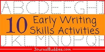 Activities for Early Writing Skills