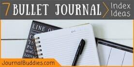 Bullet Journal Index (7 Ideas!)