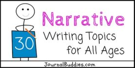 Narrative Writing Topics for All Writers
