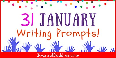 January Journal Writing Prompts for Kids