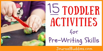 Pre-Writing Activities for Toddlers