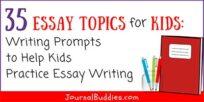 Essay Topics for Kids