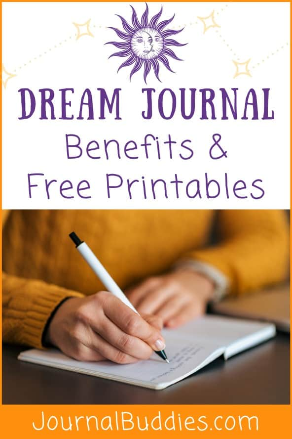 Free Printables for Dream Journaling