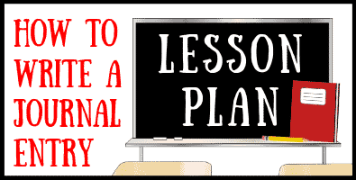 Journal Entry Lesson Plan