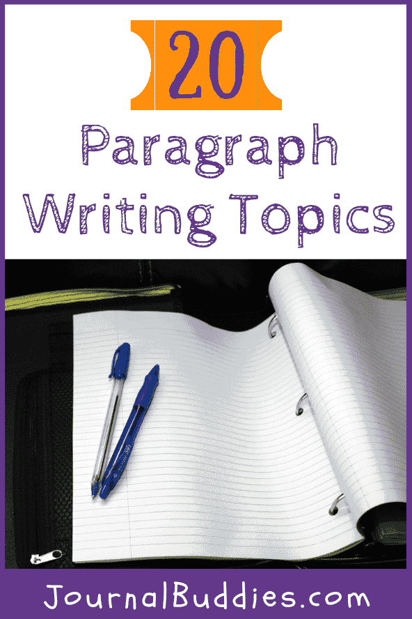 One way that you can help students practice their paragraph writing skills is to introduce paragraph writing topics. These paragraph writing topics can be used for nearly any type of classroom, regardless of grade level or subject matter.