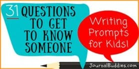 31Questions to Get to Know Someonefor Kids