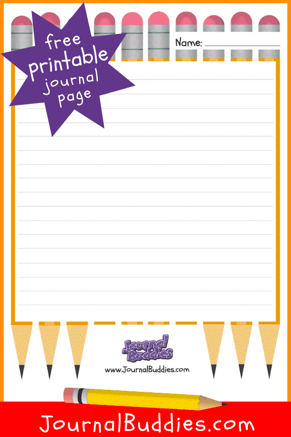 See and download this fun and free printable journal template designed especially for your precious child, students or homeschooler.