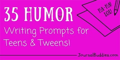 Comedic Writing Prompts for Teens and Tweens