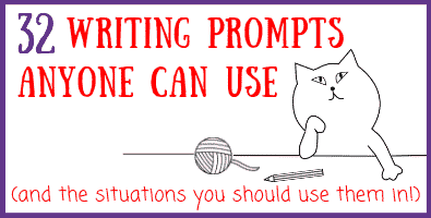 Writing Prompts and When to Use Them