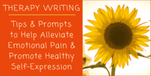 Writing Therapy Prompts and Tips