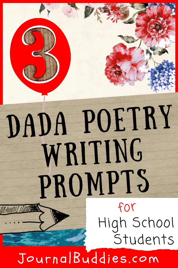 Dadaism is an alternative art movement that confounded the people of the time - try these Dadaism poetry prompts to inspire your high school students!